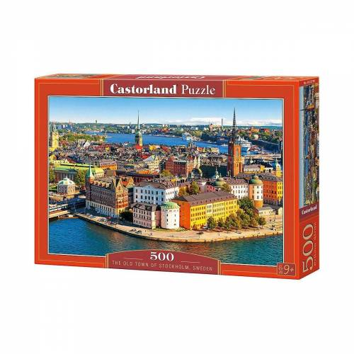 Castorland Puzzle »Puzzle 500 Teile Die Altstadt von«, Puzzleteile