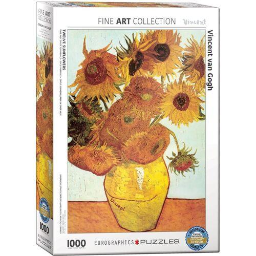 empireposter Puzzle »Vincent van Gogh Sonnenblumen - 1000 Teile Puzzle - Grösse 68x48 cm«, 1000 Puzzleteile