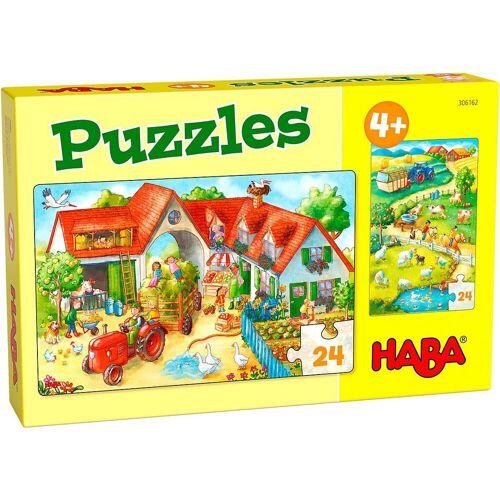 Haba Puzzle »Puzzles Bauernhof«, Puzzleteile