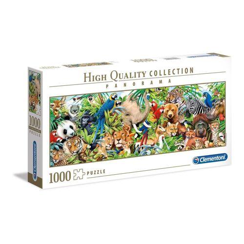 Clementoni® Puzzle »39517 Wildlife 1000 Teile Panorama Puzzle«, 1000 Puzzleteile, Panorama Format