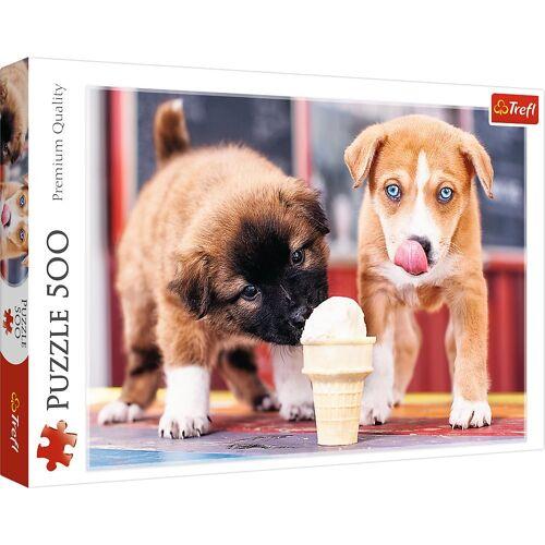 Trefl Puzzle »37272 Hunde Eiszeit 500 Teile Puzzle«, 500 Puzzleteile