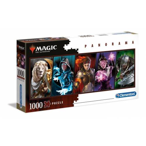 Clementoni® Puzzle »Magic The Gathering 1000 Teile Panorama Puzzle«, 1000 Puzzleteile, Panorama Format