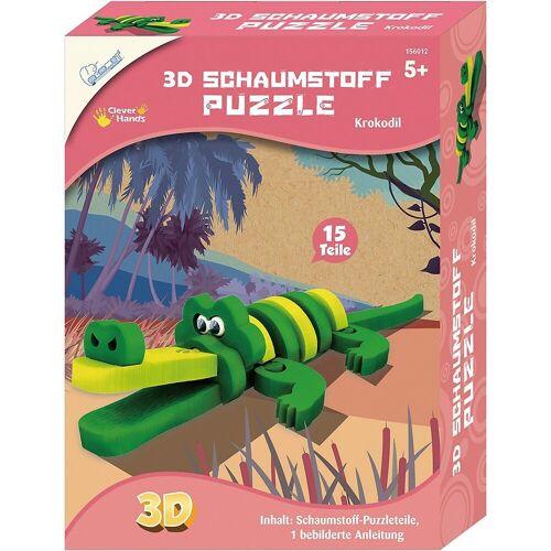 MAMMUT Spiel und Geschenk 3D-Puzzle »3D Schaumstoff Puzzle Krokodil«, Puzzleteile