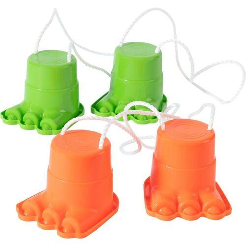 myToys Spielzeug-Gartenset »Topfstelzen Affenfüße, 2 Paar, rot und grün«