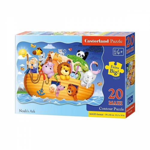 Castorland Puzzle »Bodenpuzzle 20 Teile Maxi - Arche Noah«, Puzzleteile
