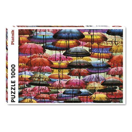 Piatnik Puzzle »Felix Cesare Kunterbunte Schirme 1000 Teile Puzzle«, 1000 Puzzleteile