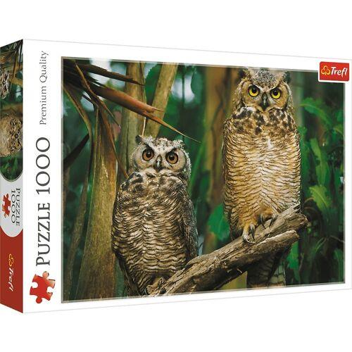 Trefl Puzzle »10603 Eulen 1000 Teile Puzzle«, Puzzleteile
