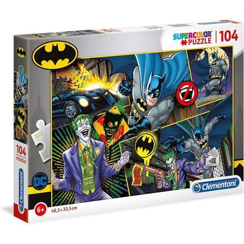 Clementoni® Puzzle »Supercolor Puzzle 104 Teile - Batman«, Puzzleteile