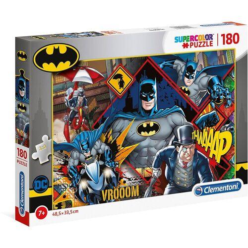 Clementoni® Puzzle »Supercolor Puzzle 180 Teile - Batman«, Puzzleteile