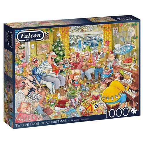 Falcon Puzzle »11279 Twelve Days of Christmas 1000 Teile Puzzle«, Puzzleteile