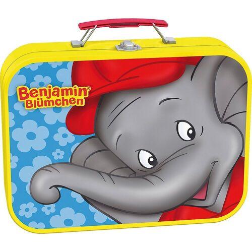 Schmidt Spiele Puzzle »Metall Puzzlekoffer, 2x26, 2x48 Teile, Benjamin«, Puzzleteile