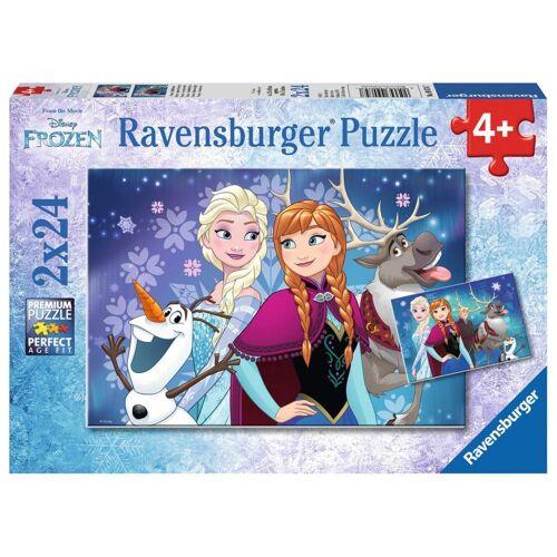 Ravensburger Puzzle »Frozen - Nordlichter«, 48 Puzzleteile