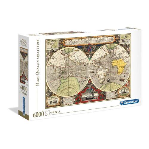 Clementoni® Puzzle »Antike See-Karte«, 6000 Puzzleteile