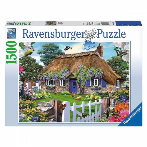 Ravensburger Puzzle »Puzzle 1500 Teile, 80x60 cm, Cottage in England«, Puzzleteile