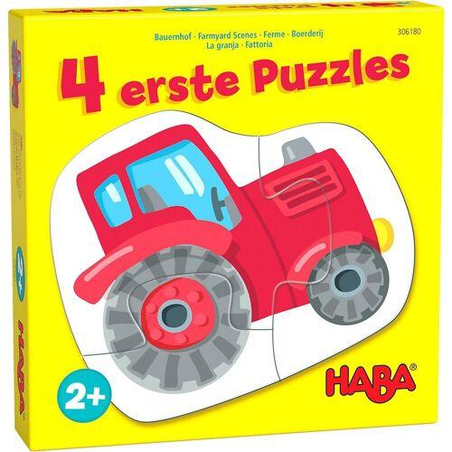 Haba Puzzle »4 erste Puzzles – Bauernhof«, Puzzleteile