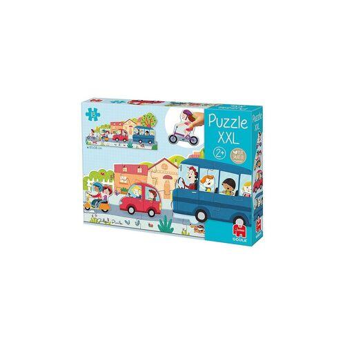 Goula Puzzle »XXL-Puzzle Fahrzeuge«, Puzzleteile