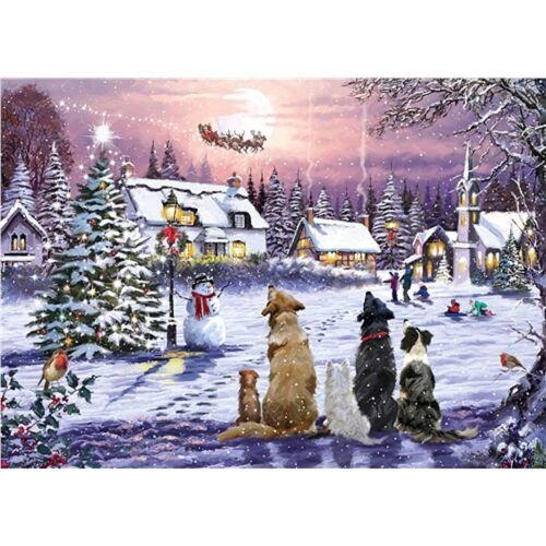 Otter House Puzzle »75096 Richard Macneil Christmas Eve«, Puzzleteile