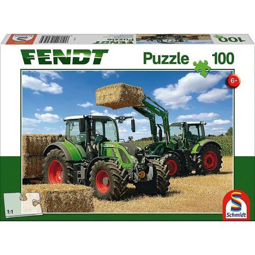 Schmidt Spiele Puzzle »Puzzle 100 Teile Fendt 724 Vario, Fendt 716 Vario«, Puzzleteile
