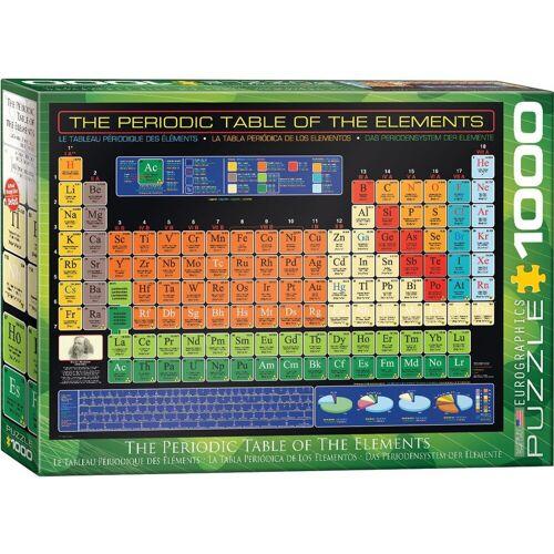 empireposter Puzzle »Periodensystem der Elemente - 1000 Teile Puzzle - Grösse 68x48 cm«, 1000 Puzzleteile