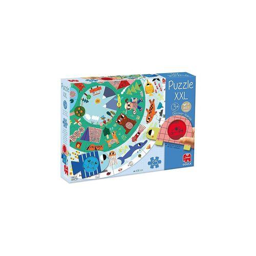 Goula Puzzle »XXL-Puzzle Tiere entdecken«, Puzzleteile
