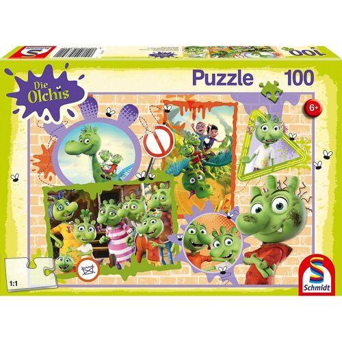 Schmidt Spiele Puzzle »Puzzle Die Olchis Olchige Freunde, 100 Teile«, Puzzleteile