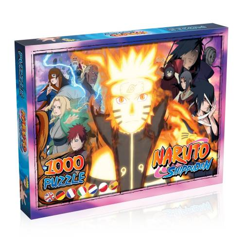 Winning Moves Spiel, »Naruto Shippuden Puzzle (1000 Teile)«