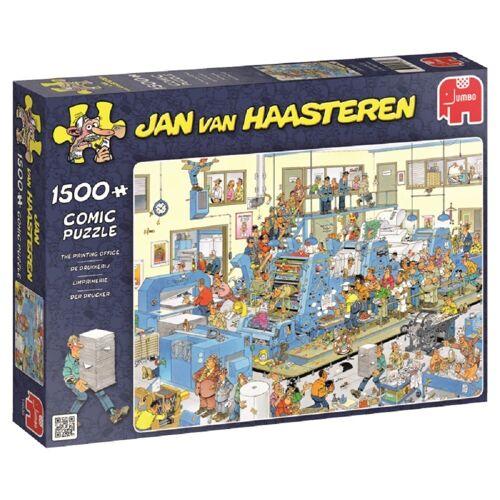 Jumbo Spiele Puzzle »19039 Jan van Haasteren Der Drucker«, 1500 Puzzleteile