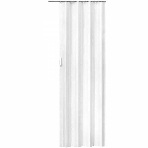 tectake Falttür 203 x 80 cm - weiß