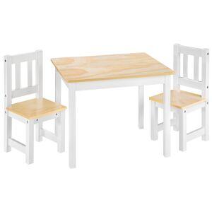 tectake Kindersitzgruppe Alice - weiß
