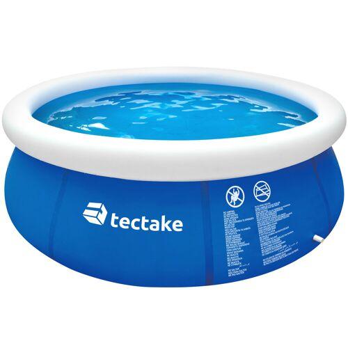 tectake Swimming Pool rund Ø 240 x 63 cm - blau