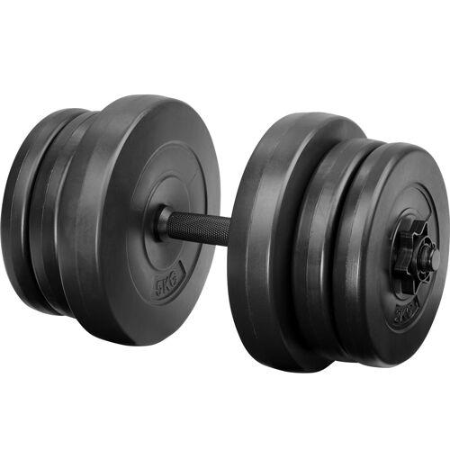 tectake Kurzhantel - 20 kg