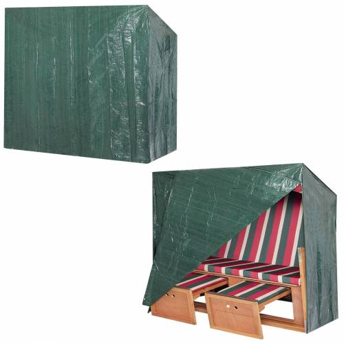 Kingsleeve Abdeckung Strandkorb Grün 165x125x90cm