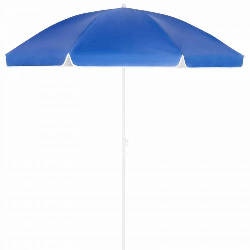 Kingsleeve Sonnenschirm Crete Blau 200cm Neigefunktion