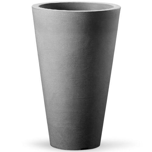 Deuba® Topf Capri 40x70cm Grau