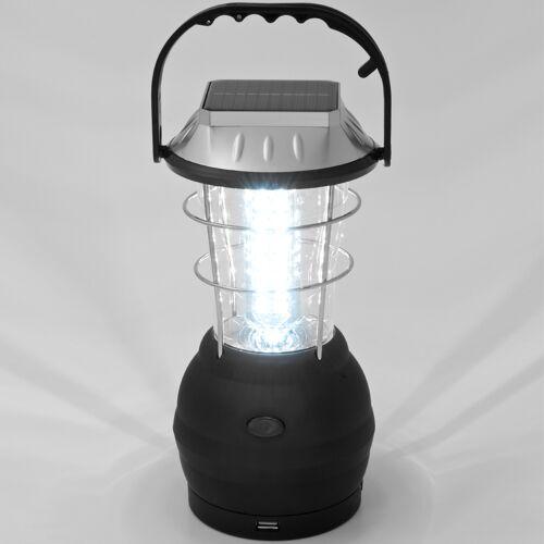 monzana® Solar Campinglampe mit 36 LEDs