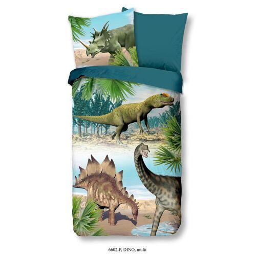 Kinderbettwäsche Dino aus Baumwolle