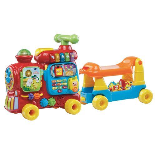 "Vtech Spielzeug-Eisenbahn ""ABC-Eisenbahn"" (15-tlg)  bunt"