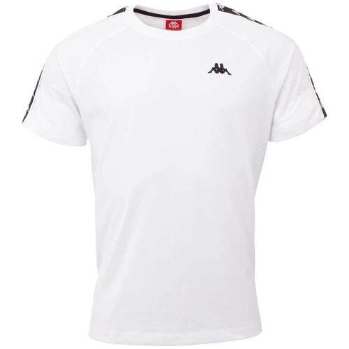 Kappa T-Shirt AUTHENTIC ERNESTO L (52/54);M (48/50);XXL (60/62) weiß