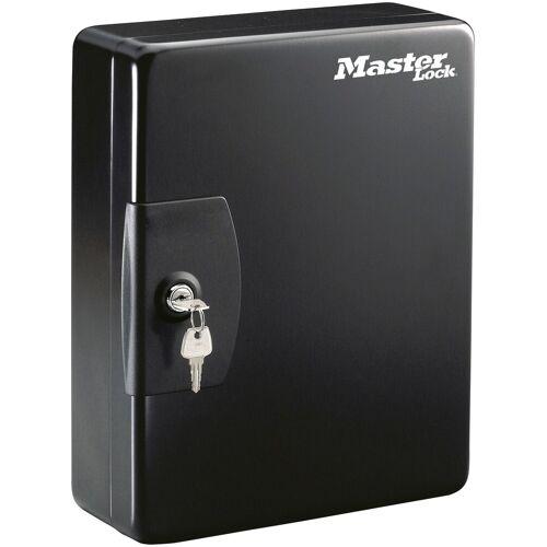 MASTER LOCK Schlüsselkasten Für 50 Schlüssel für 50 Schlüssel Stahl  schwarz