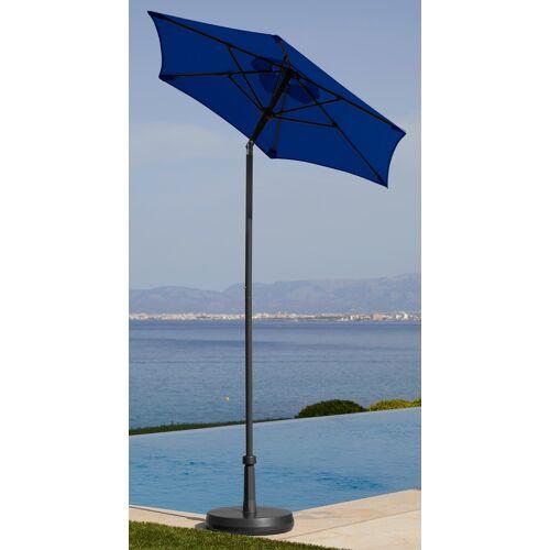 GARTEN GUT Sonnenschirm Push up Schirm Rom  blau