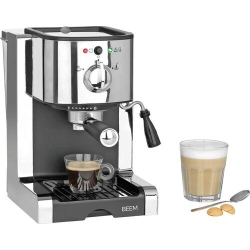 BEEM Siebträgermaschine Espresso-Perfect  silberfarben