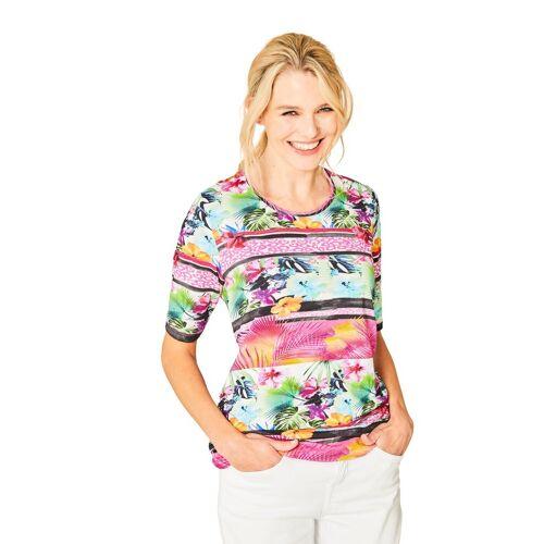 Hajo Hochwertiges Shirt Halbarm 38;40;42;44;46 lila