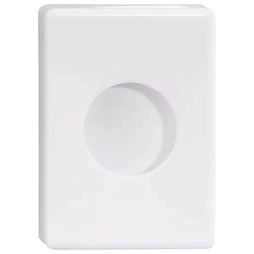 NIE WIEDER BOHREN Feuchttücherbox WE in weiß  weiß