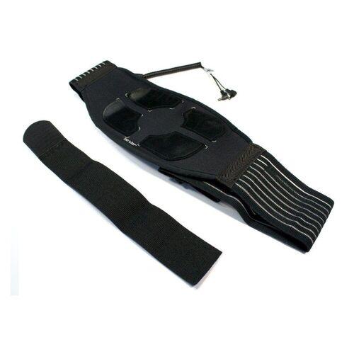 prorelax EMS-Bauchmuskeltrainer 93735 Therapiegürtel für Tens und Ems Geräte  schwarz
