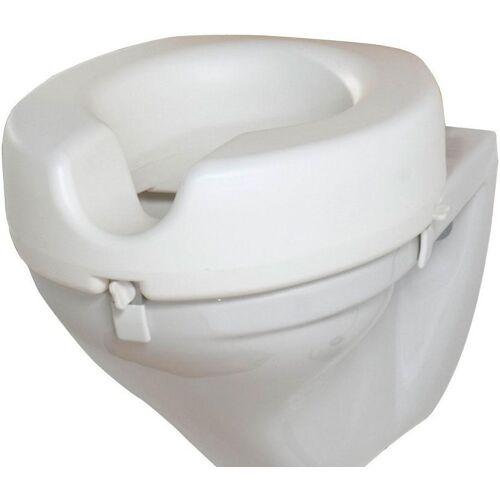 WENKO Bidet-Einsatz WC Sitz-Erhöhung Secura 12 cm  weiß
