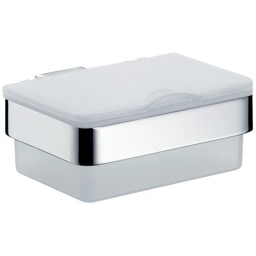 EMCO Feuchttücherbox Loft chrom  grau