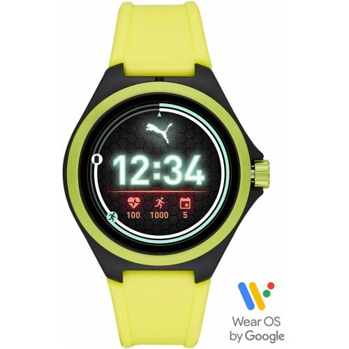 Puma Smartwatches PT9101 Smartwatch  gelb