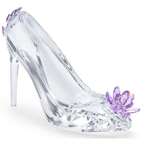 Swarovski Dekofigur Schuh mit Blume 5493712 (1 Stück)  lila