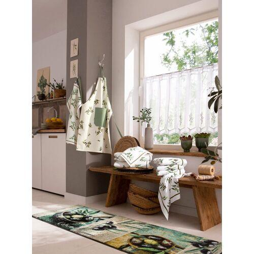 Kracht Geschirrtücher 1 50x70 cm, 2 Halbleinen-Geschirrtücher;2 50x70 c grün
