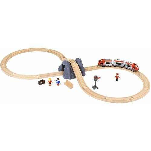 """Brio Spielzeug-Eisenbahn """"BRIO WORLD Eisenbahn Starter Set A"""" (Set)  beige"""
